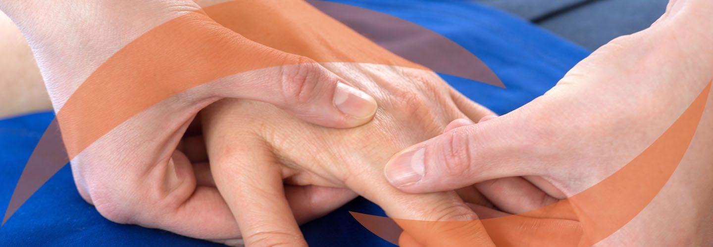 Physiotherapie Mobilisation des Handgelenks